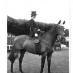 Fania Mahony at the RDS in the 1960's